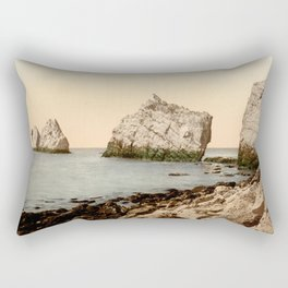 The Needles, Isle of Wight Rectangular Pillow