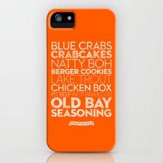 Baltimore — Delicious City Prints Slim Case iPhone (5, 5s)