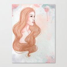 Pink Alice  Canvas Print