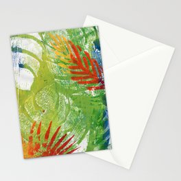 Rio in Green Stationery Cards