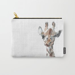 Knowing Giraffe Carry-All Pouch