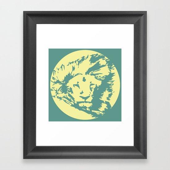 Nature Eye Framed Art Print