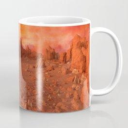 Mars Landscape Coffee Mug