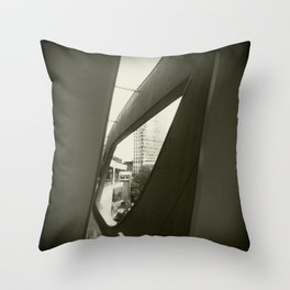 Skyview window  Throw Pillow