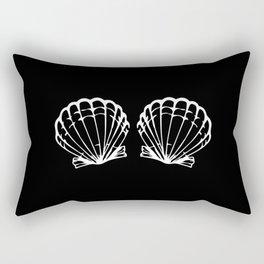 Mermaid Beach Bikini Carnival Shell BH Gift Idea Rectangular Pillow