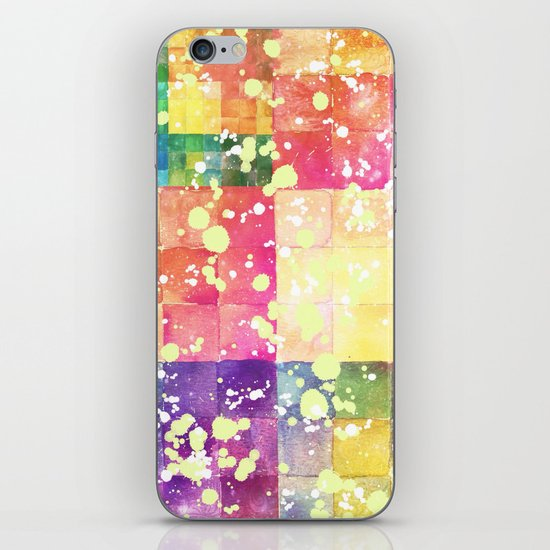 Watercolors - For iphone iPhone & iPod Skin