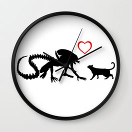 Alien x Jonesy Wall Clock