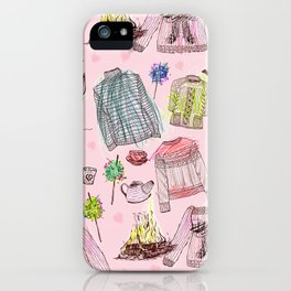 Autumn Winter Warmers iPhone Case