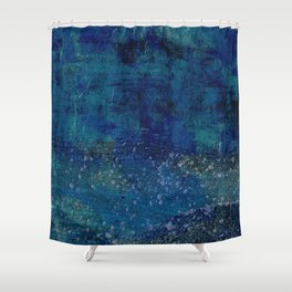 Turquoise Canyon Shower Curtain