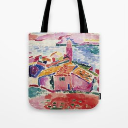 View of Collioure - Henri Matisse - Exhibition Poster Tote Bag