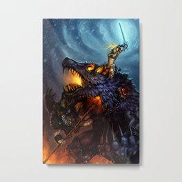 Ragnarok Metal Print