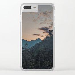 Squamish Sunset Clear iPhone Case