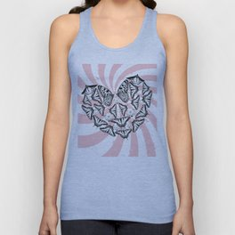 Love Conquers Hate Unisex Tank Top