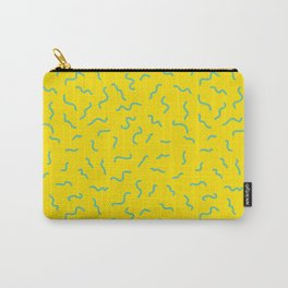 Postmodern Germs No. 1 in Canary Yellow Carry-All Pouch