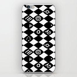 Jazz Harlequin iPhone Skin