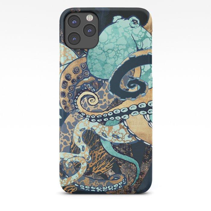 Metallic Octopus II iPhone Case