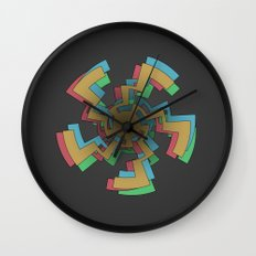 Caustic Celtic Wall Clock