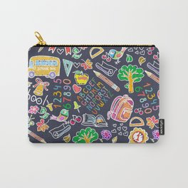 School teacher #9 Carry-All Pouch