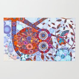 If Klimt Painted An Owl :) Owls are darling birds! Rug