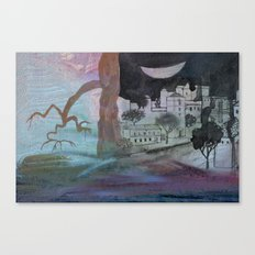 big moon Canvas Print