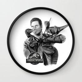 Owen and Raptors Wall Clock