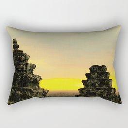 Temple Perch Rectangular Pillow