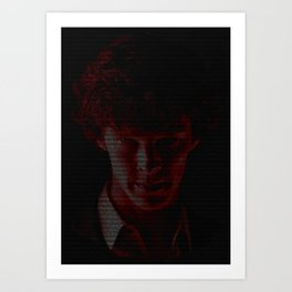 A Study In Scarlet Art Print