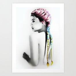 Kylie Art Print