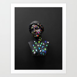 When She Thought of Stars Art Print