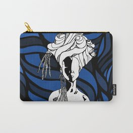 Loc'd in Blue Carry-All Pouch