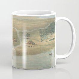 Vintage Map of Chicago in 1820 Coffee Mug