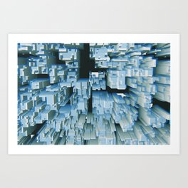 Abstract Composition 294 Art Print