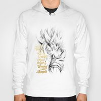 dragonball z Hoodies featuring Dragonball Z - Honor by Straife01