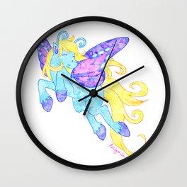 Pretty Pixie Pony Wall Clock