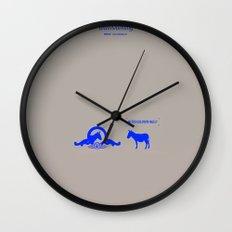 Crazy old Mule / Metro Goldwyn Mule Wall Clock