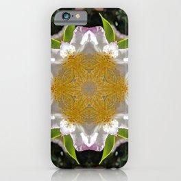 Camellia Flower Kaleidoscope  iPhone Case