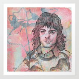 Rick Wright - Comfortably Numb Art Print