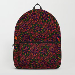 Abstract Flowers 101a Backpack