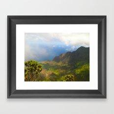 Waimea Canyon, Kauai Framed Art Print
