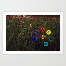 So many flavors to choose from Art Print