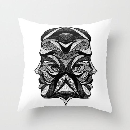 Signs of the Zodiac - Gemini Throw Pillow