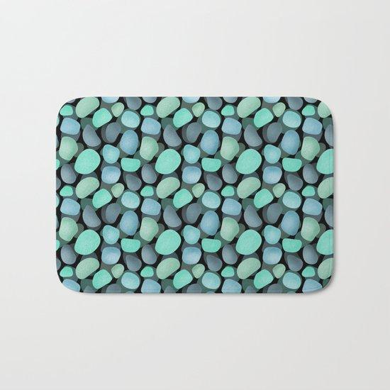Sea pebbles . No. 1 Bath Mat