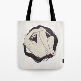 My Simple Figures: The Circle Tote Bag