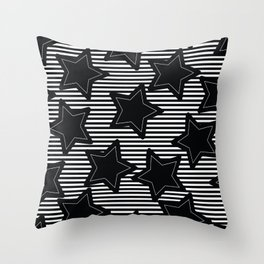 Stars N stripes Throw Pillow