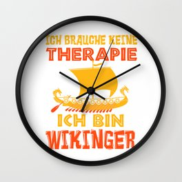 Viking Therapy Nordmann Valhalla Gift Wall Clock