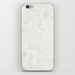 DC NYC London - Cream iPhone Skin