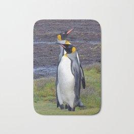 King Penguins Bath Mat