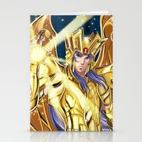 saga Stationery Cards featuring Gemini Saga by Studio Kawaii