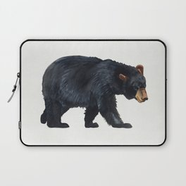 Watercolour Black Bear Drawing Laptop Sleeve