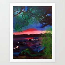 Gaylord Sunset Art Print